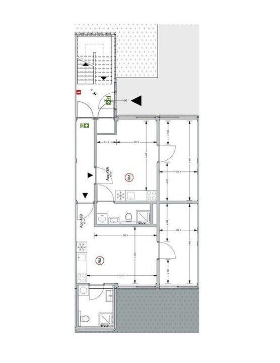 Kalfjeslaan 48 B, Delft plattegrond-0