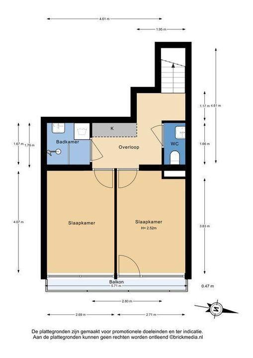 Jacoba van Beierenlaan 213, Delft plattegrond-1