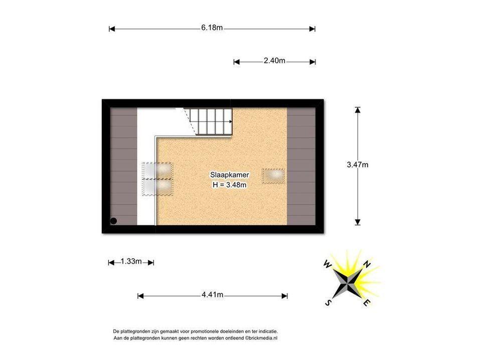 Papenstraat 16, Delft plattegrond-3