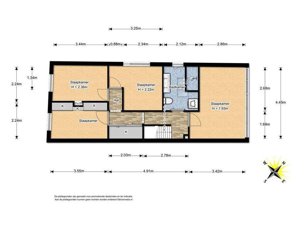 Papenstraat 16, Delft plattegrond-1