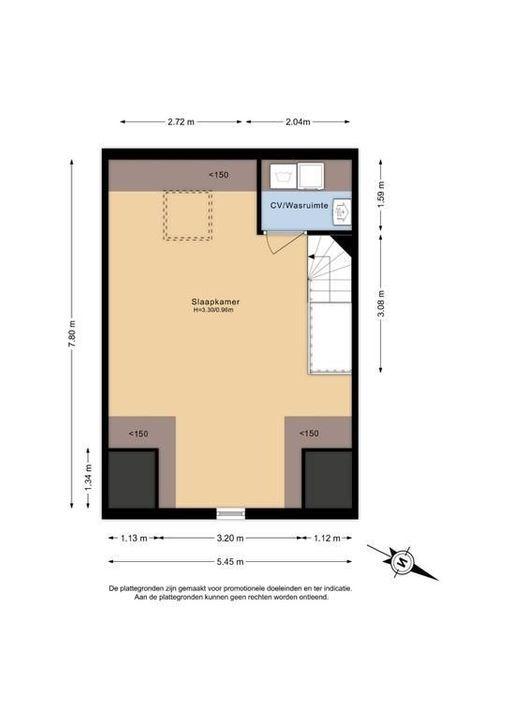 Van der Endetuinen 1, Delft plattegrond-1