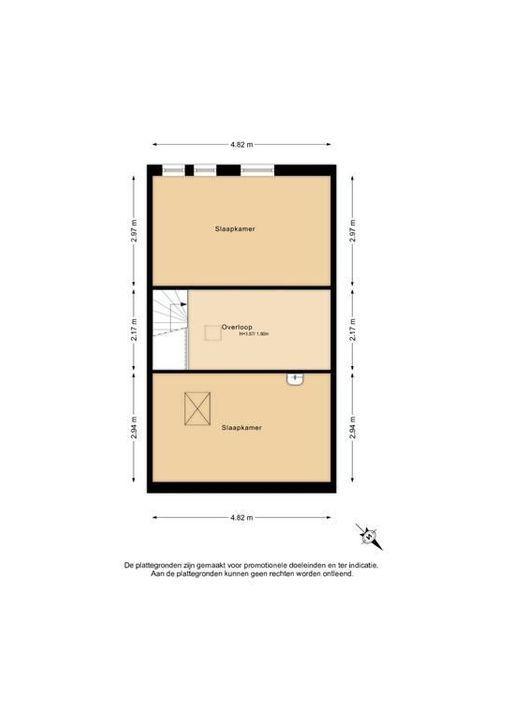 Roodborstlaan 24, Delft plattegrond-2