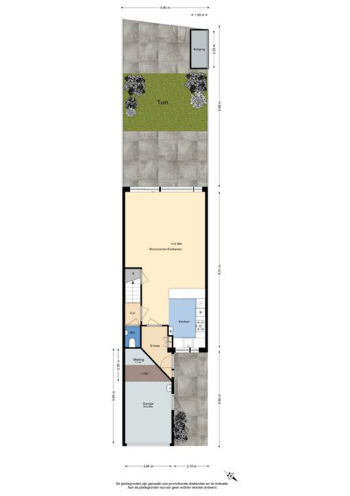 Roodborstlaan 24, Delft plattegrond-4
