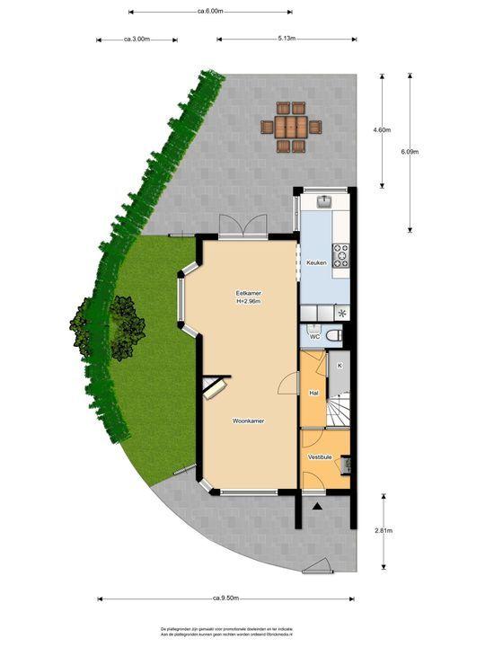 Delfgauwseweg 217, Delft plattegrond-0