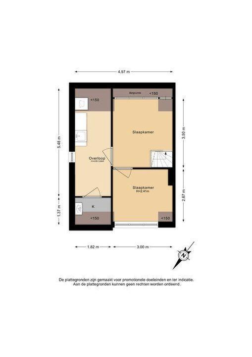 C. Fockstraat 3, Delft plattegrond-2