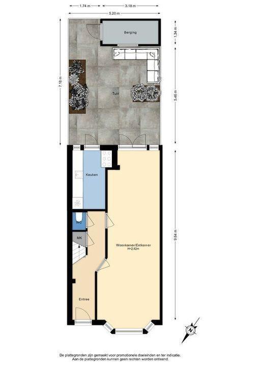 C. Fockstraat 3, Delft plattegrond-3