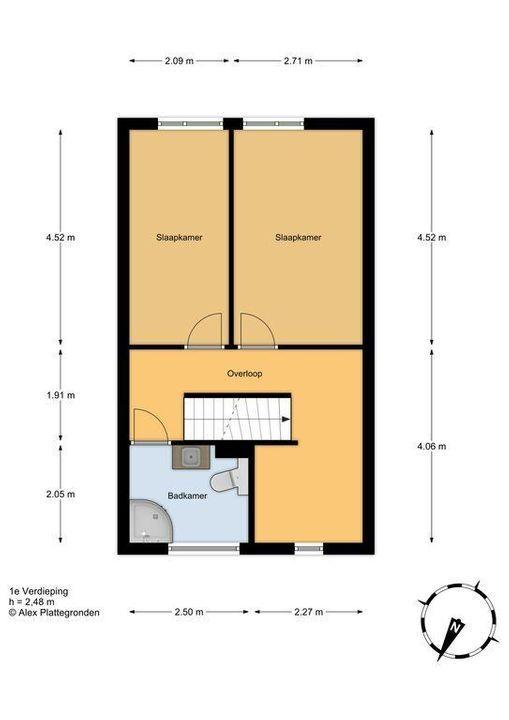 Amazoneweg 64, Delft plattegrond-2
