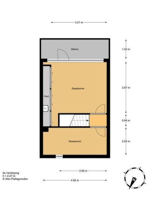 Amazoneweg 64, Delft plattegrond-3