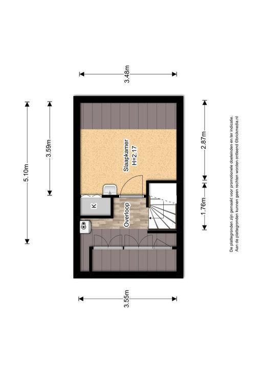 Hovenierstraat 18, Delft plattegrond-3