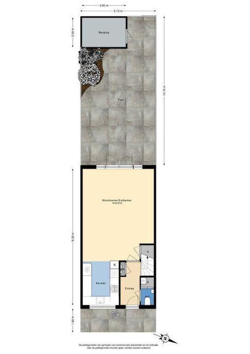 Azielaan 234, Delft plattegrond-3