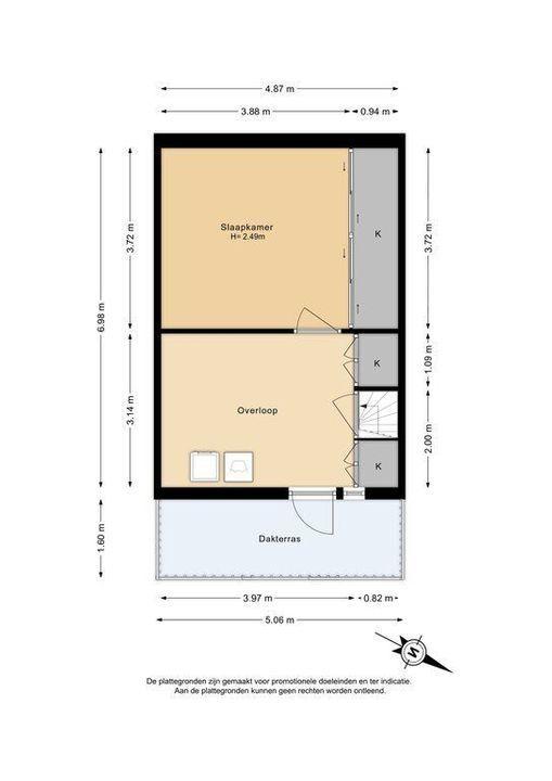 Azielaan 234, Delft plattegrond-2