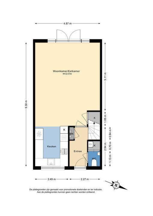 Azielaan 234, Delft plattegrond-0