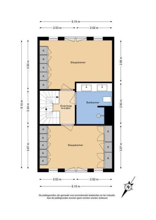 Gravin Margarethastraat 6, Delft plattegrond-2