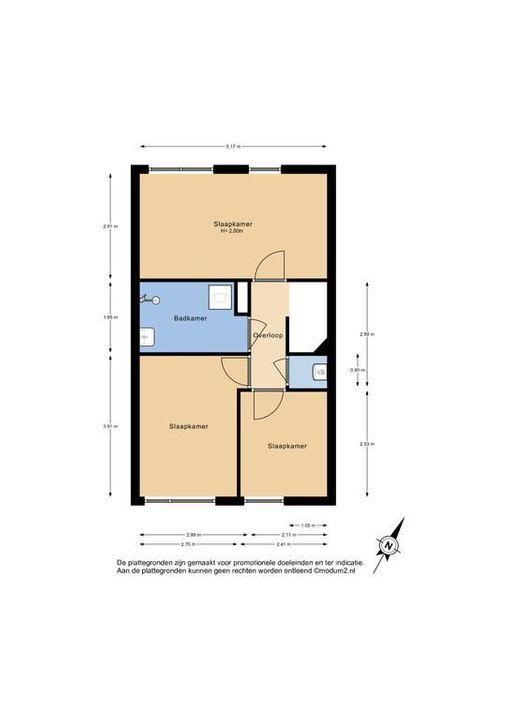 Omanstraat 112, Delft plattegrond-2