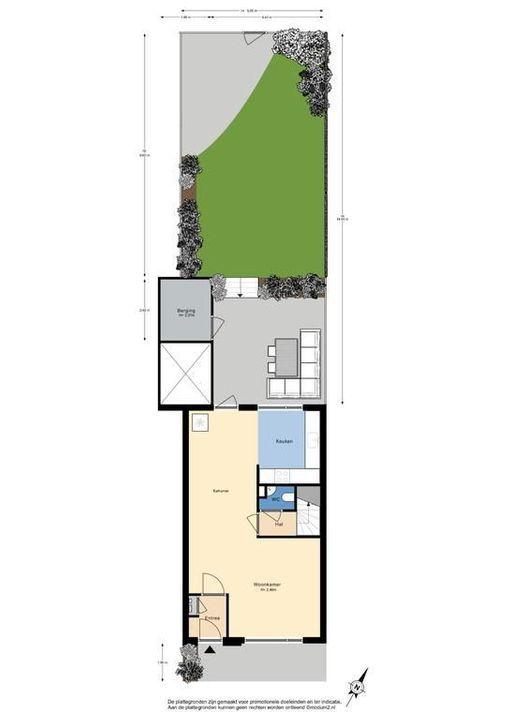 Omanstraat 112, Delft plattegrond-0