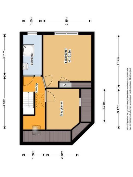 Javastraat 63, Delft plattegrond-1