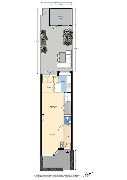 De Vriesstraat 28, Delft plattegrond-3