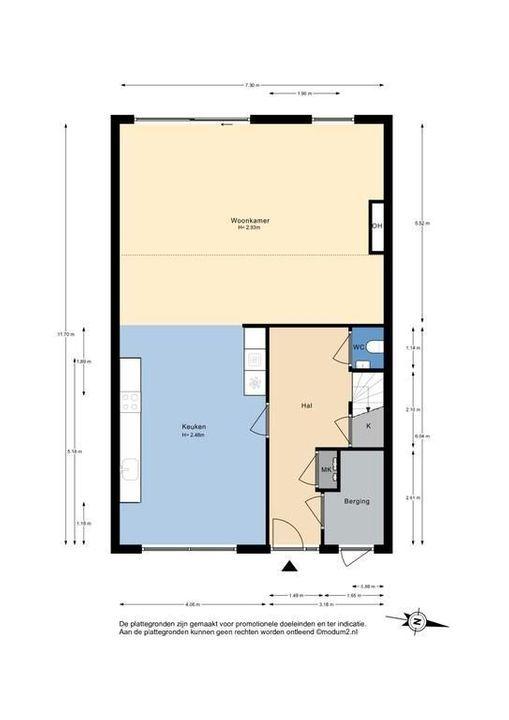 De Loorhof 1, Delft plattegrond-1