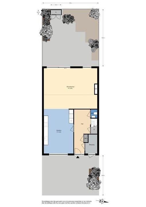De Loorhof 1, Delft plattegrond-0