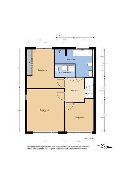 De Loorhof 1, Delft plattegrond-2