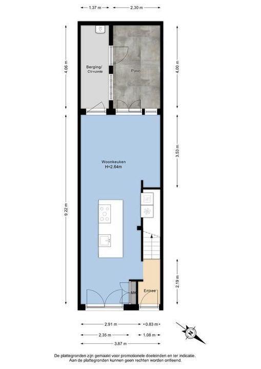 Verwersdijk 45, Delft plattegrond-0