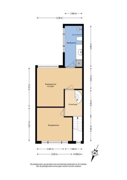 Schimmelpenninck van der Oyeweg 4, Delfgauw plattegrond-1