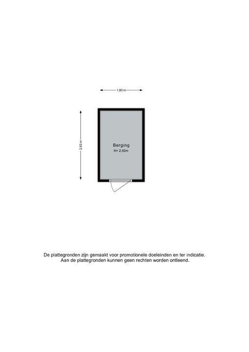 Vossenzoom 17, Pijnacker plattegrond-1
