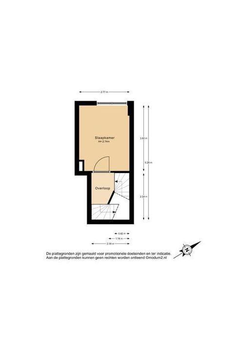Hof van Delftlaan 68, Delft plattegrond-2