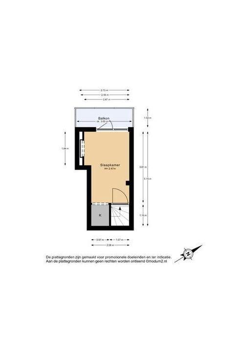 Hof van Delftlaan 68, Delft plattegrond-1
