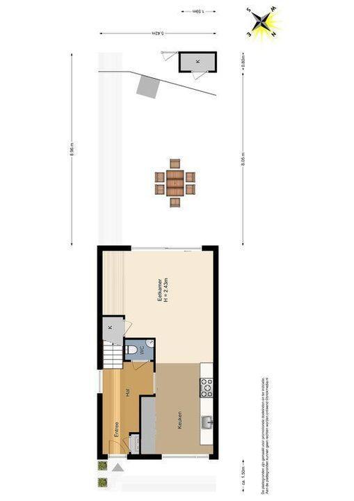 Raam 77, Delft plattegrond-5