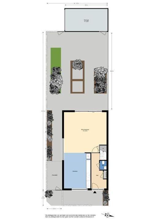 Verzetspad 3, Delft plattegrond-3