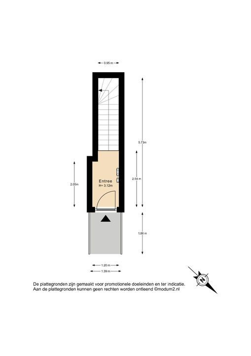 Michiel de Ruyterweg 5, Delft plattegrond-3