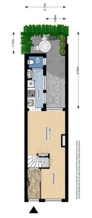 Rietveld 200, Delft plattegrond-0