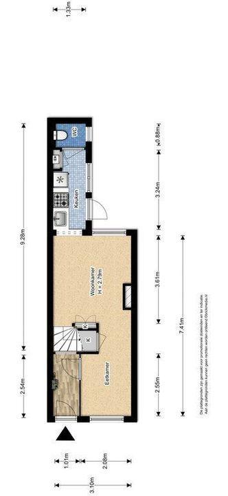 Rietveld 200, Delft plattegrond-1