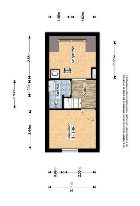Rietveld 200, Delft plattegrond-2