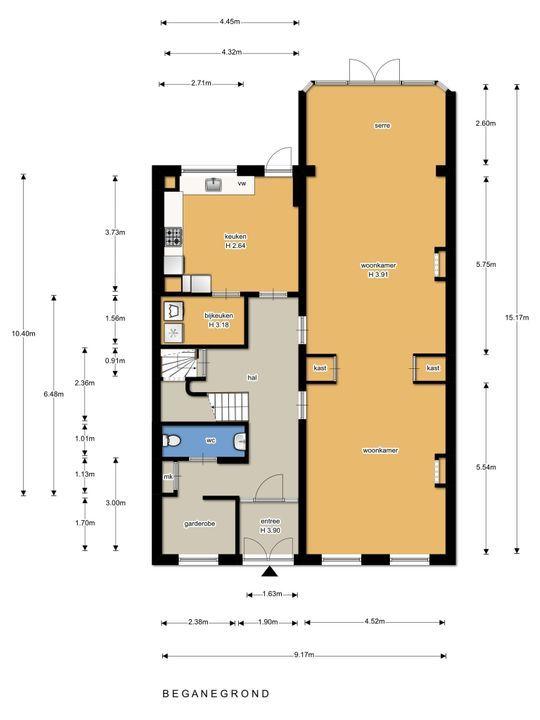 Surinamestraat 10 floorplan