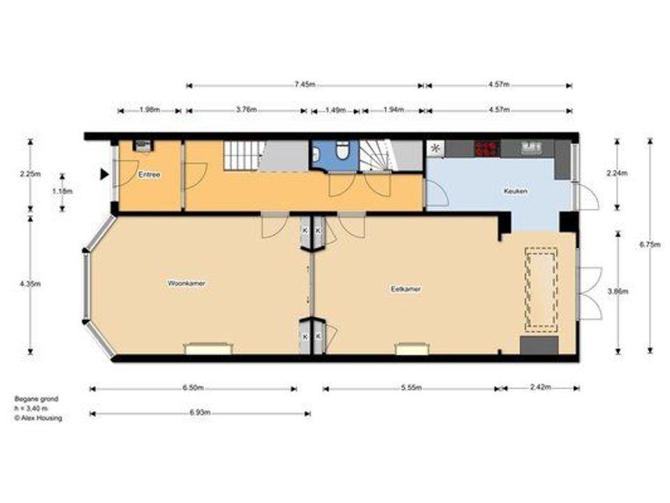 Frederik Hendrikplein 49 floorplan
