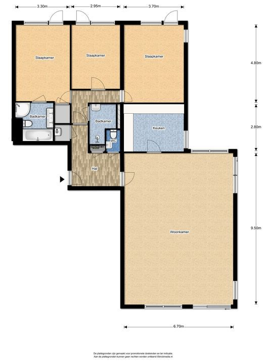 Nieuwe Parklaan 79 A floorplan