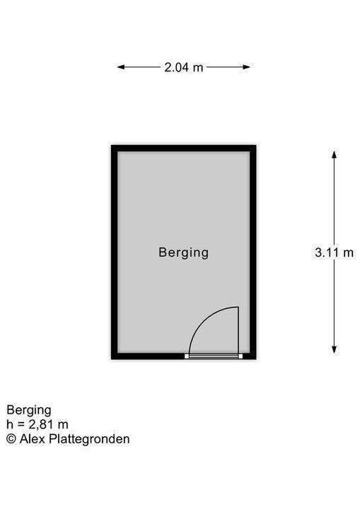 Laan van Pluymestein 26 floorplan