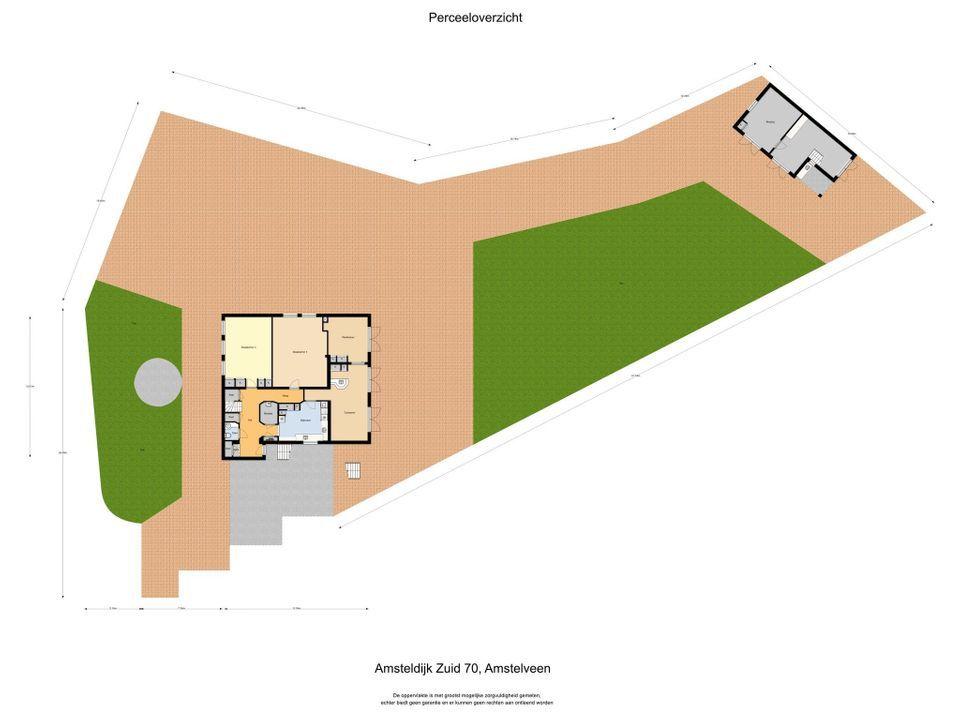 Amsteldijk Zuid 70, Amstelveen plattegrond-