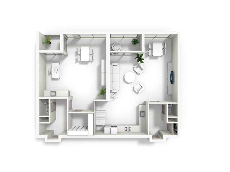 Claude Debussylaan 243, Amsterdam plattegrond-