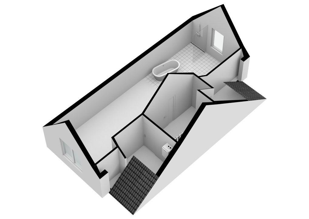 Fort Abcoudestraat 103, Weesp plattegrond-