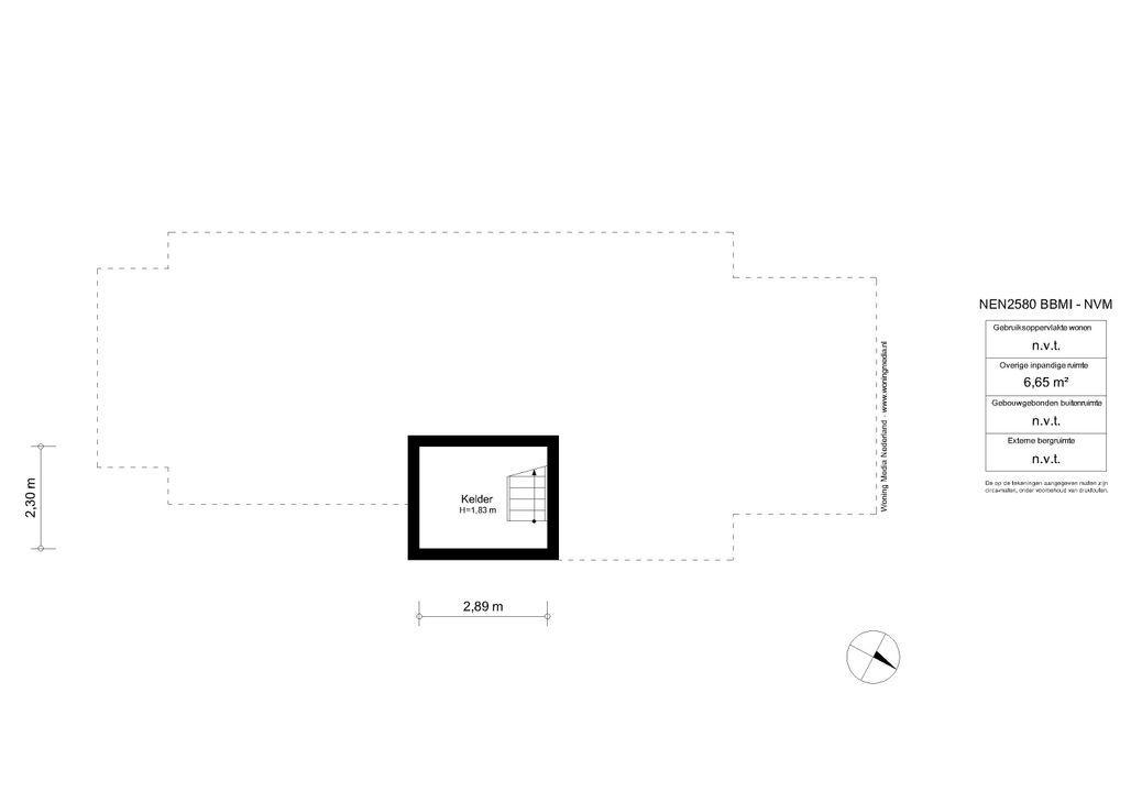Amsteldijk Zuid 46, Amstelveen plattegrond-