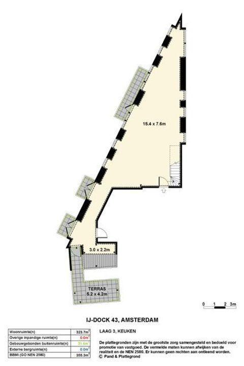 IJdok 43, Amsterdam plattegrond-