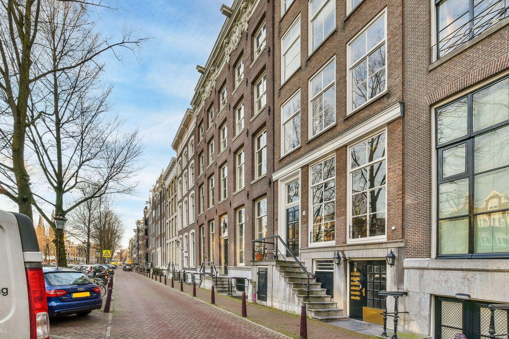 Keizersgracht 71 I-V, Amsterdam foto-