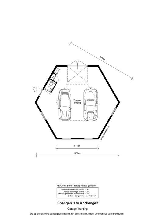 Spengen 3, Kockengen plattegrond-