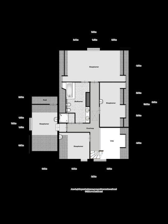 De Hoefkens 32, Moergestel plattegrond-