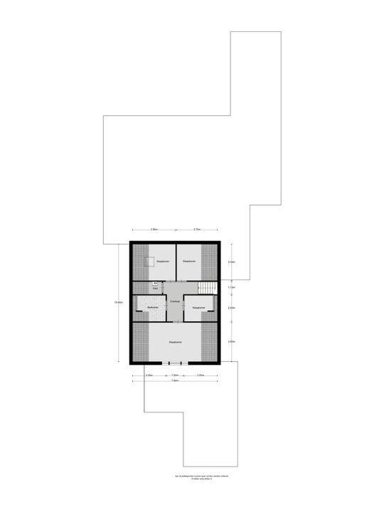 Kloosterlaan 60, Den Bosch plattegrond-