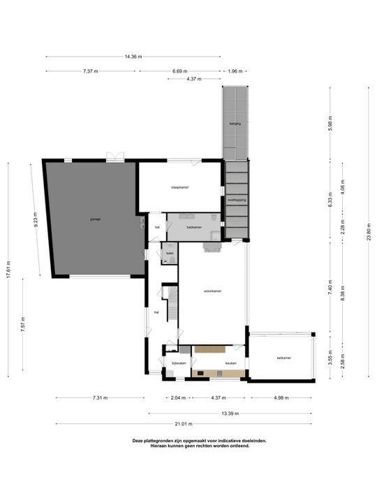 Torenhoekstraat 27, Berkel-Enschot plattegrond-