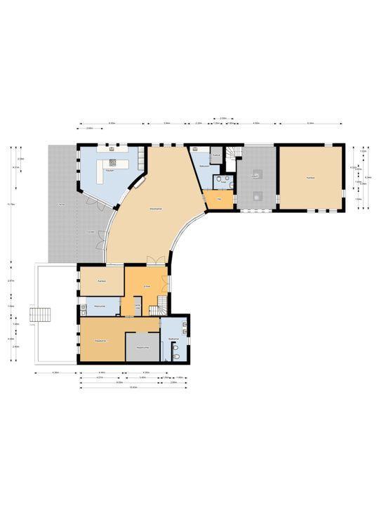 Dorpsstraat 93, Lieshout plattegrond-